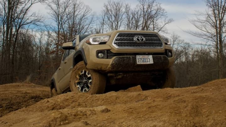 the 2017 toyota tacoma trd off road review