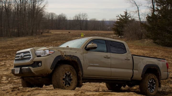 The 2017 Toyota Tacoma Trd Off Road