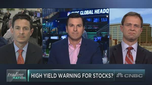A so-called ominous warning sign for stocks is nothing to sweat — yet