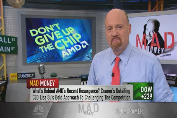 Cramer: Advanced Micro Devices is a good buy for long-term investors
