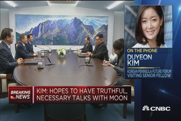 Look for some 'institutional mechanisms' from the North-South Korea summit