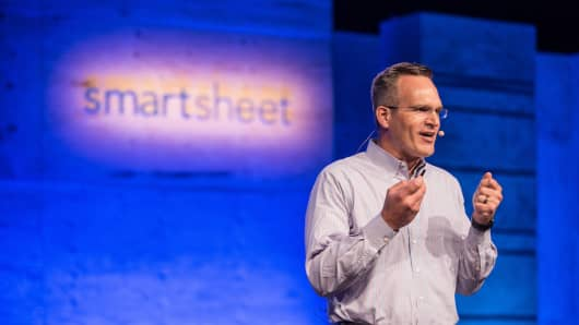 Smartsheet CEO Mark Mader.
