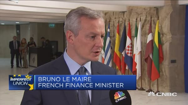French finance minister: