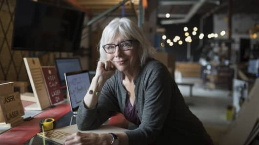Image result for older woman accountant in office