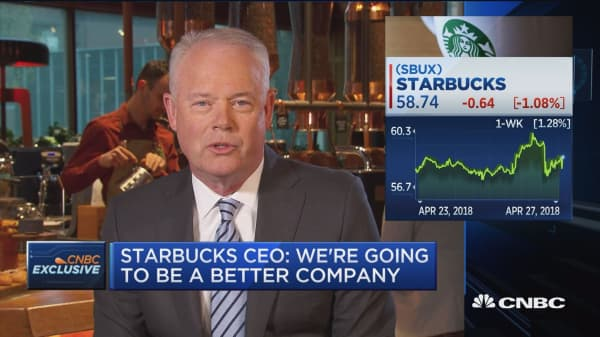 Starbucks CEO: We are introducing Chinese customers to premium coffee