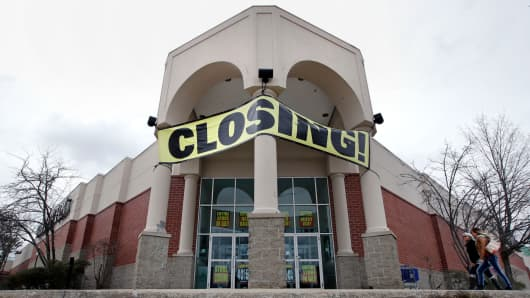 In this Feb. 23, 2018, file photo shows a Bon Ton store, which is scheduled to close, in Concord, N.H.