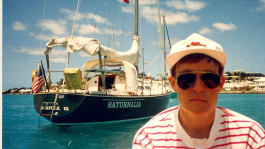 Laurie Thomas and Saturnalia in Bermuda