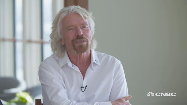 Richard Branson: Hyperloop will break ground in two or three years