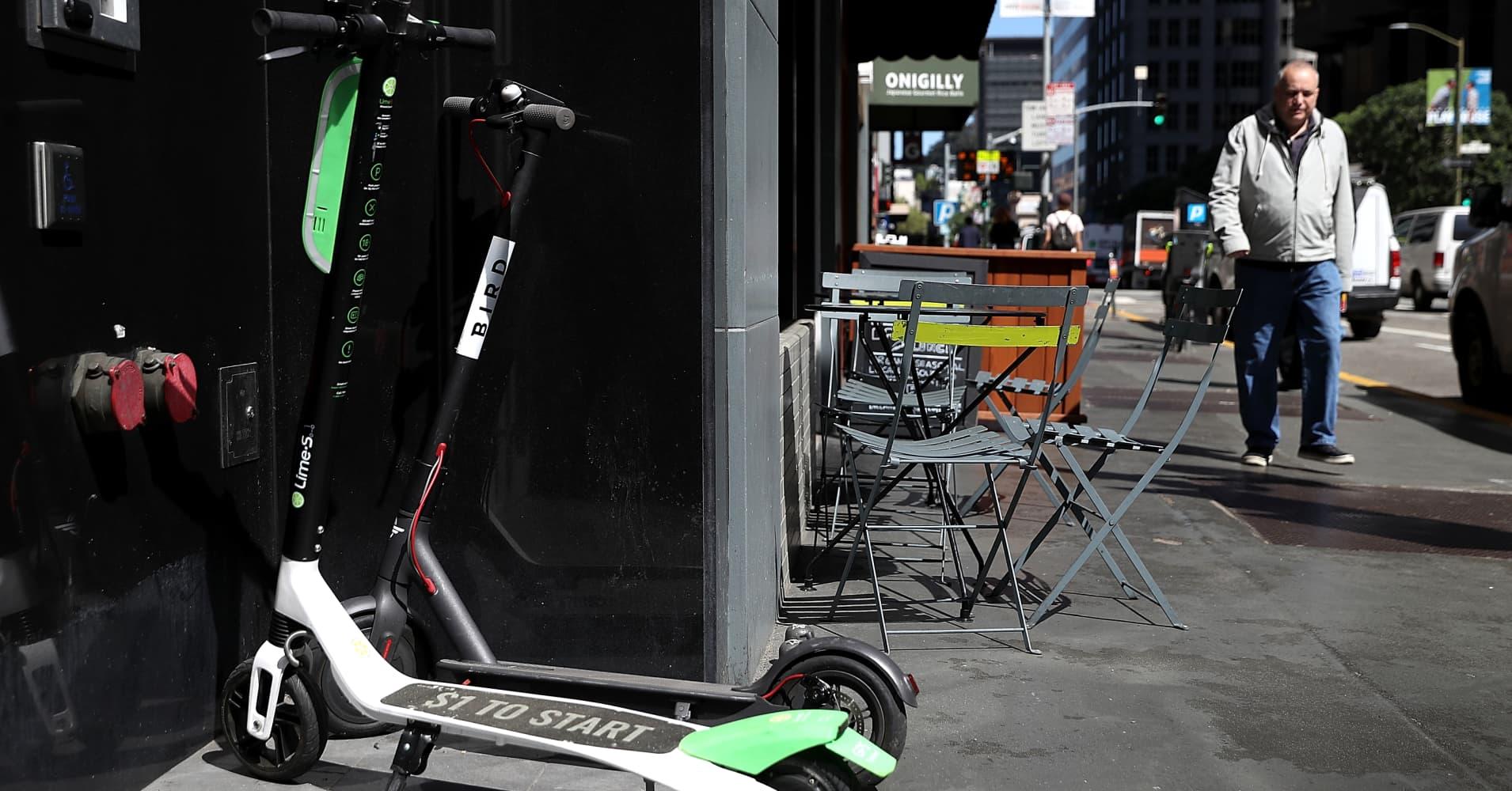 Scooter Rental San Francisco >> San Francisco denies scooter permits to big players, picks Scoot, Skip