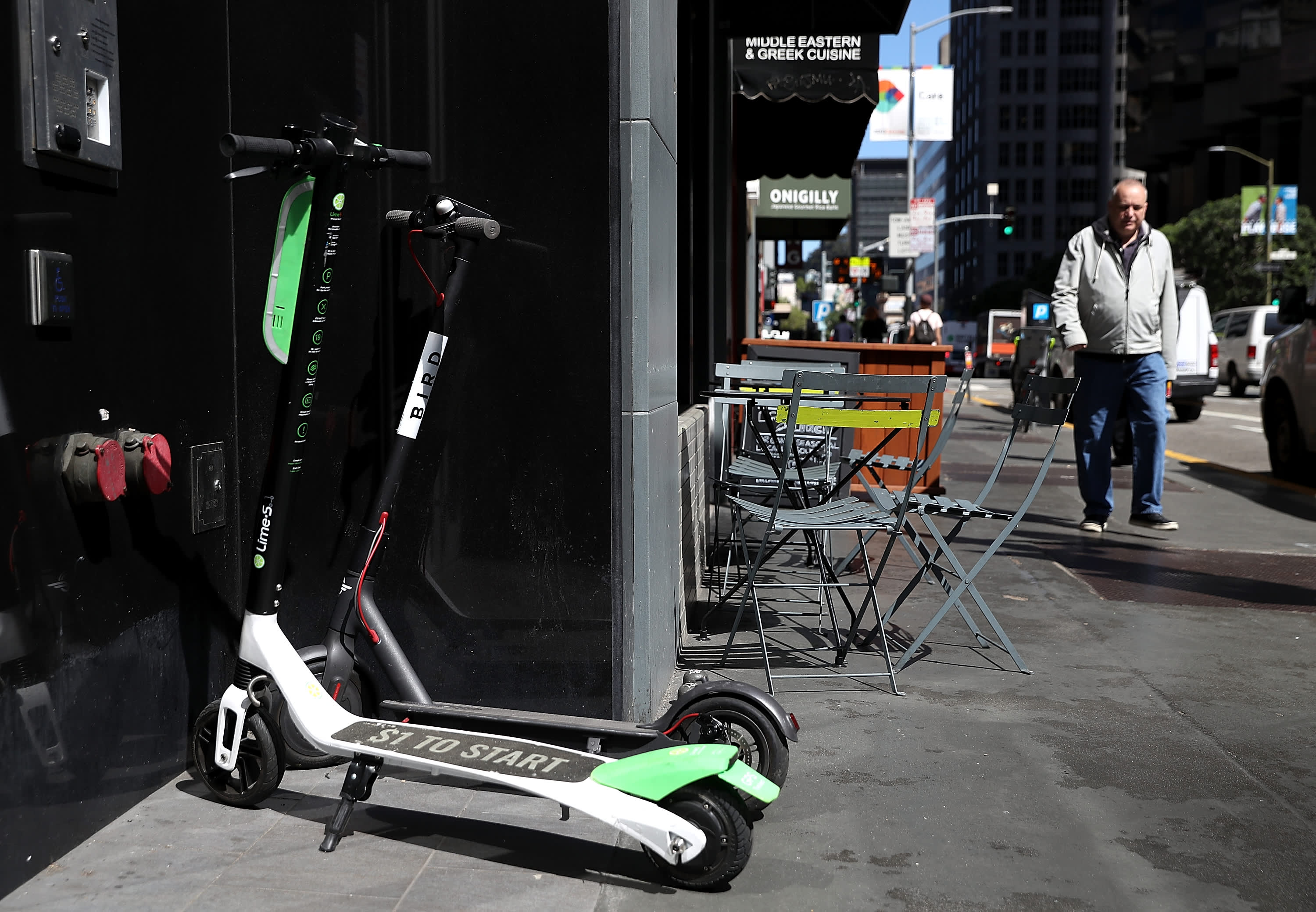 picture Electric scooters return to San Francisco after a citywide ban