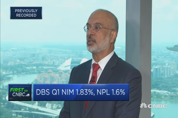 Growth has looked robust so far, says DBS CEO