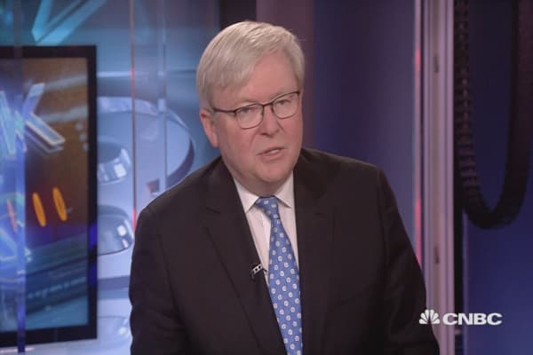 Cannot help but be moved by Korea summit: Former Aussie PM Rudd