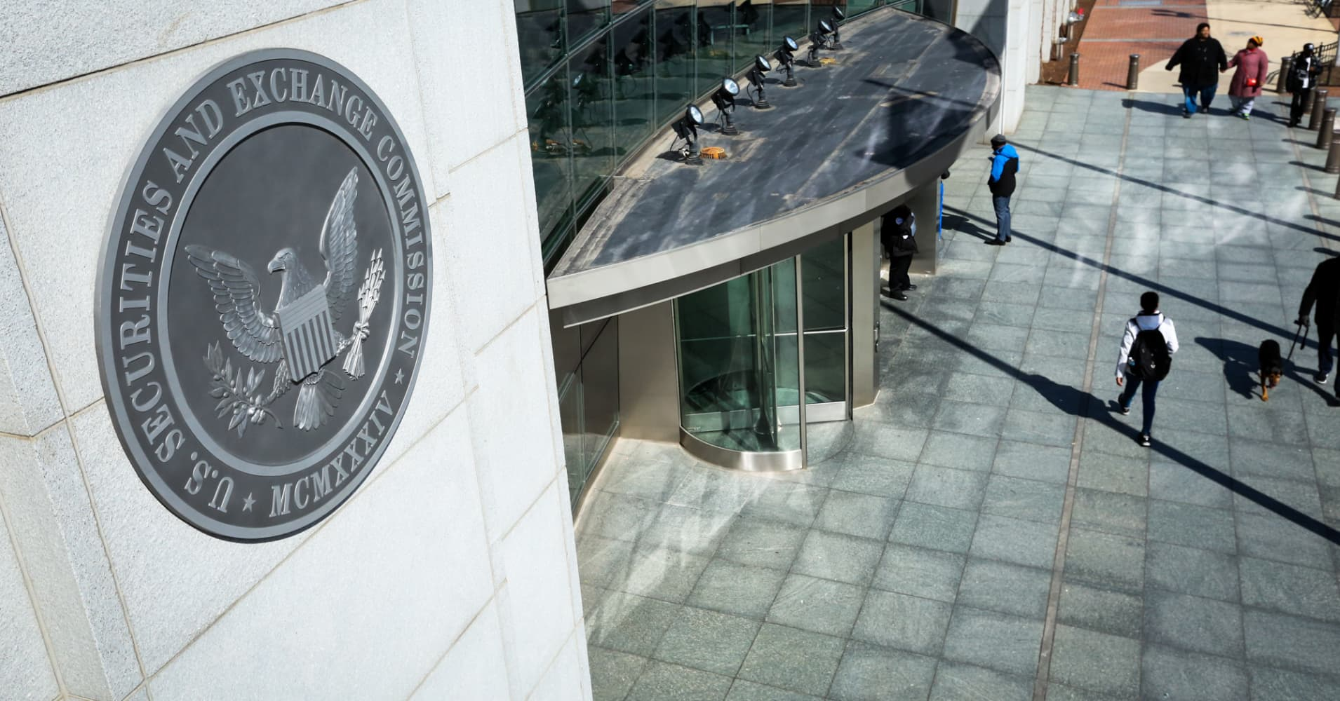 The U.S. Securities and Exchange Commission in Washington, D.C.