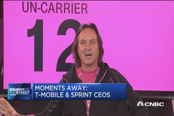 T-Mobile and Sprint go from trash talk to $26 billion deal