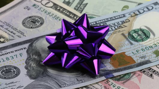 Gift cash