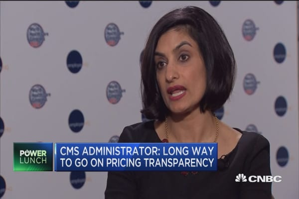 CMS Administrator: Long way to go on pricing transparency