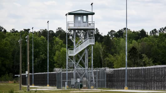 The Lee Correctional Institution, in Bishopville, South Carolina.