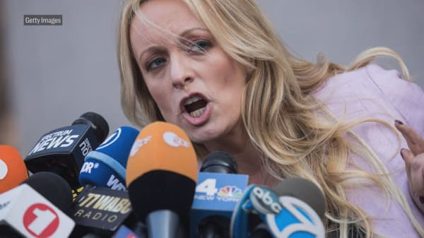 Porn star Stormy Daniels files new defamation lawsuit against President Trump