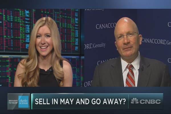 Sell in May and go away? Canaccords Tony Dwyer reveals his unique take on the saying