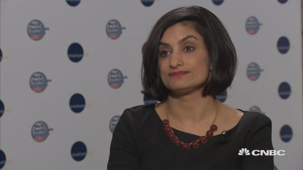 CMS's Seema Verma says it's time health care caught up to other industries