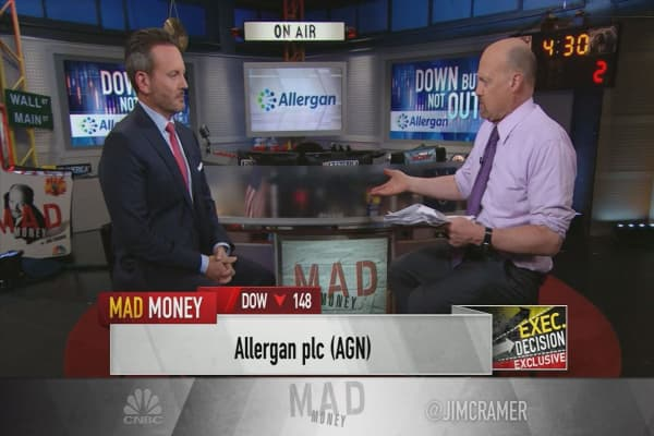 Allergan CEO says new depression drug could be an 'absolute game-changer'