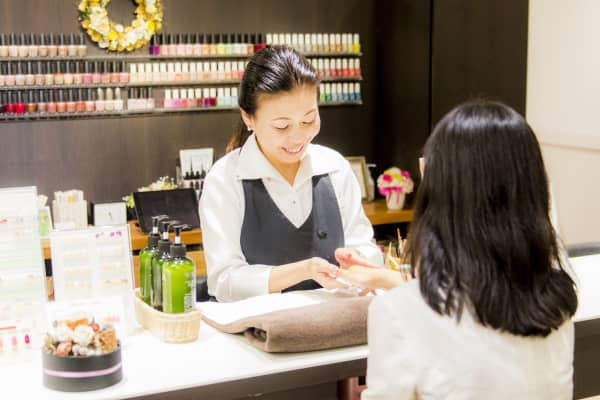 Pasona Grace, a beauty salon at Pasona's headquarters in Tokyo, Japan