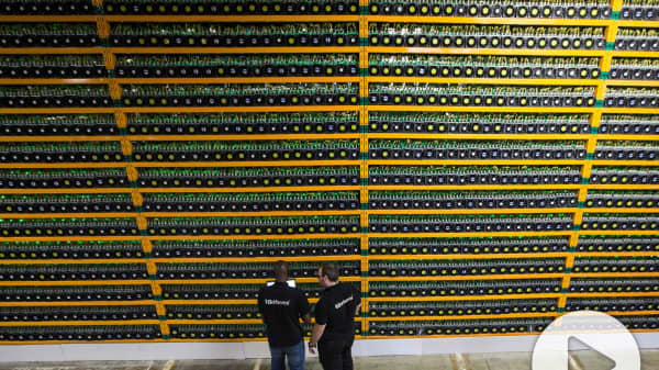 Bitcoin mining in Quebec