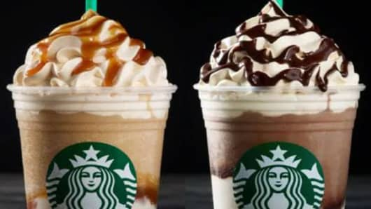 Starbucks is adding two new Frappuccinos to its permanent menu. The Ultra Caramel Frappuccino and the Triple Mocha Frappuccino debut on Tuesday in the U.S. and Canada.