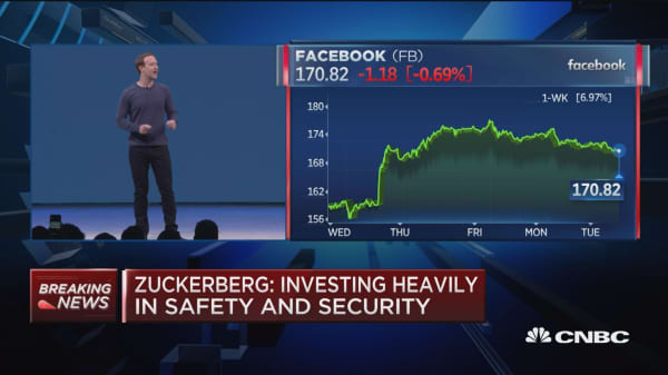 Zuckerberg: We need to design technology to help bring people together