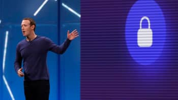 Facebook CEO Mark Zuckerberg speaks at Facebook Inc's annual F8 developers conference in San Jose, California, U.S. May 1, 2018.