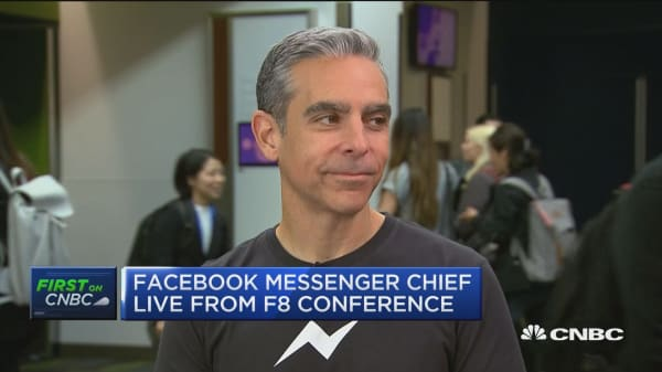 Facebook Messenger chief on app redesign