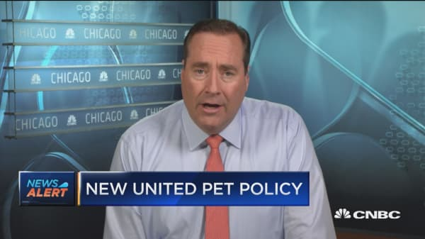 United announces new pet policy