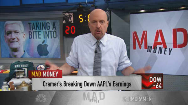 Cramer reflects on Apple earnings after speaking with CEO Tim Cook