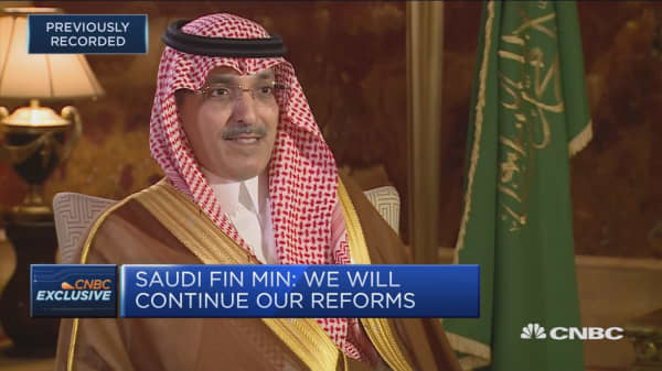 Saudi Arabia finance minister: There's a lot of excitement about the reform