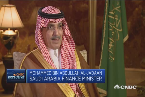 Saudi finance minister: Not worried about the impact of geopolitical issues