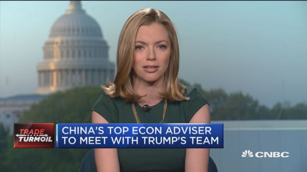 China's top economic advisor to meet with Trump's team