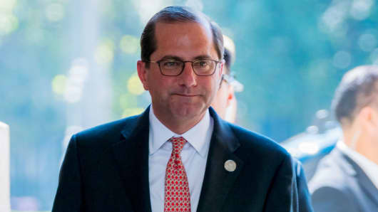 United States Secretary of Health and Human Services, Alex Azar.