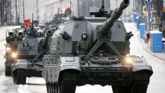 Russian Defense Spending Rose