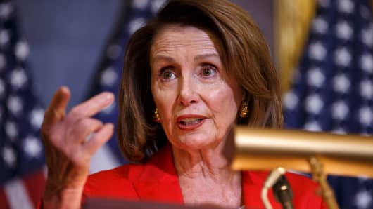 House Minority Leader Nancy Pelosi (D-CA).