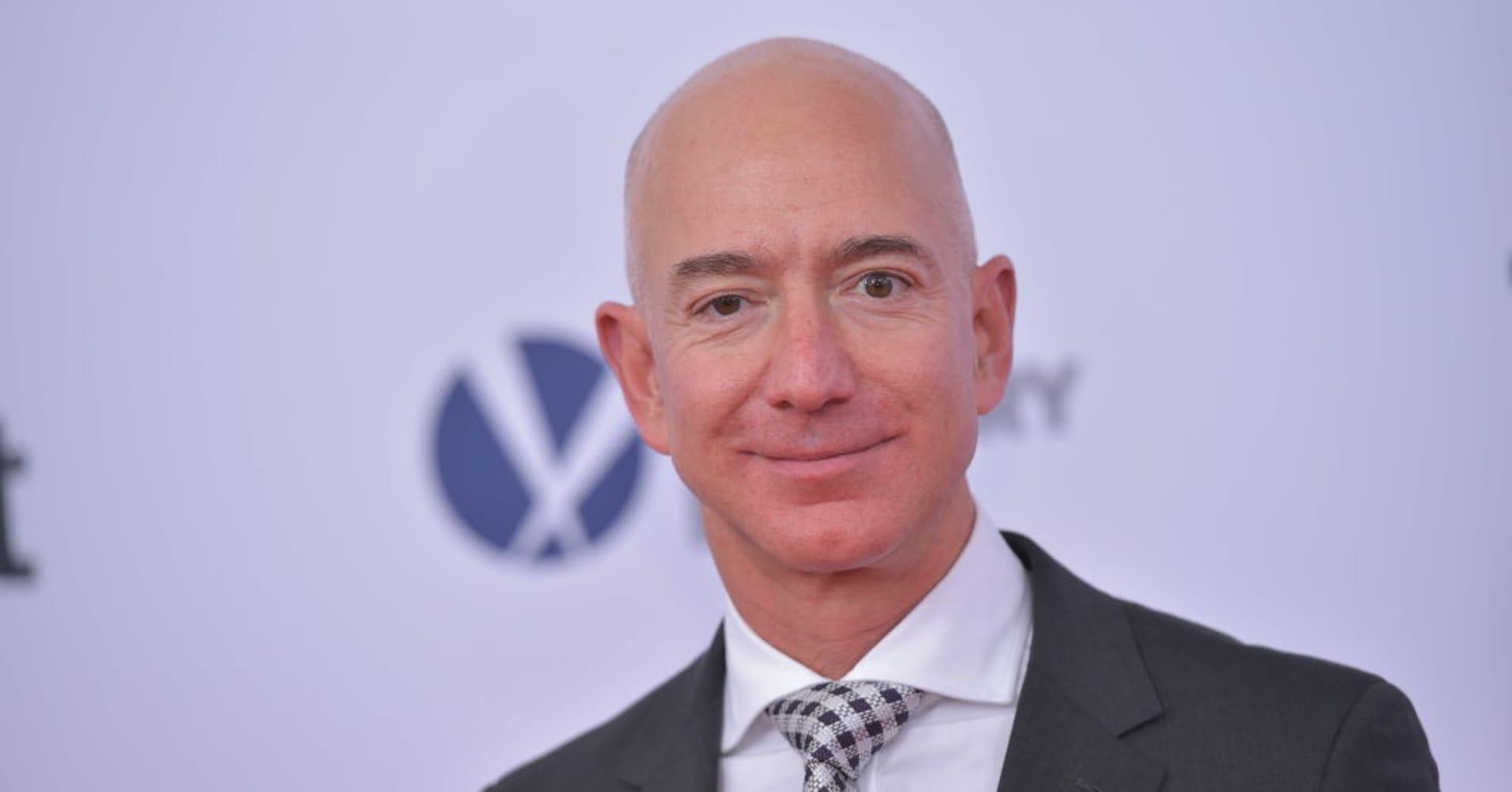 Jeff Bezos keeps this inspiring quote on his fridge