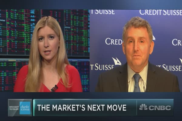 Credit Suisses Golub on the markets lukewarm reaction to remarkable earnings