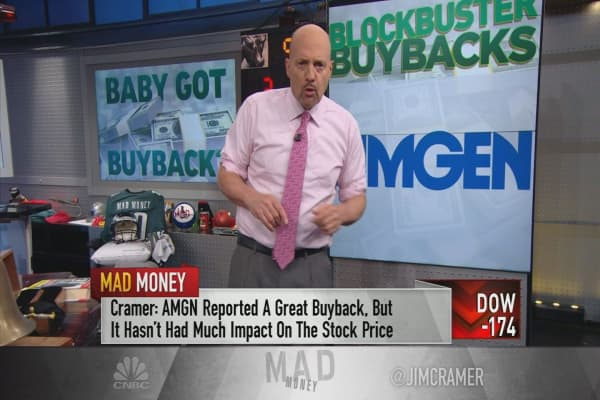 Cramer: You'll miss out if you ignore these giant stock buybacks
