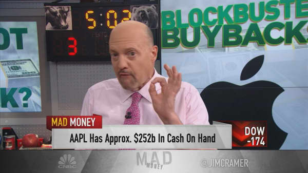 Cramer Dont Ignore These Giant Stock Buybacks Or Youll Miss Out
