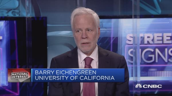 Eichengreen: US-China trade spat won't be solved for at least a year