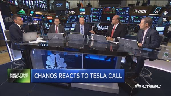 Jim Chanos to Reuters: Musk did not want investors to focus on rapidly deteriorating finances