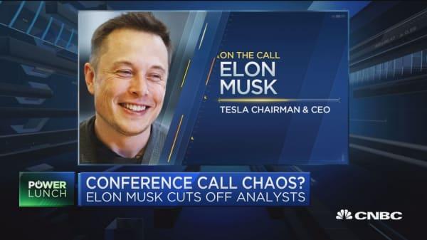 Elon Musk's 'bizarre theatrics'