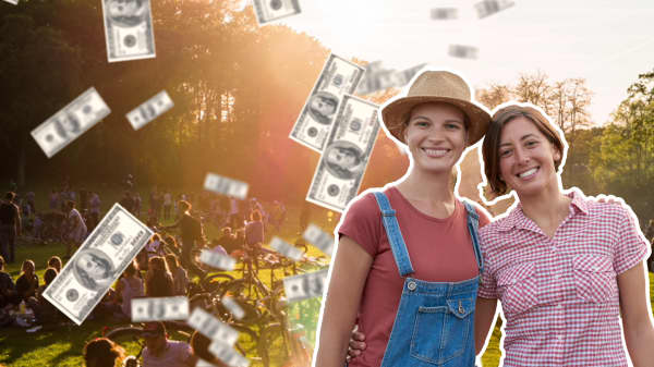 Why having a best friend is worth over $150,000 in extra income