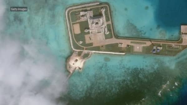 White House says China faces 'consequences' for militarization of South China Sea