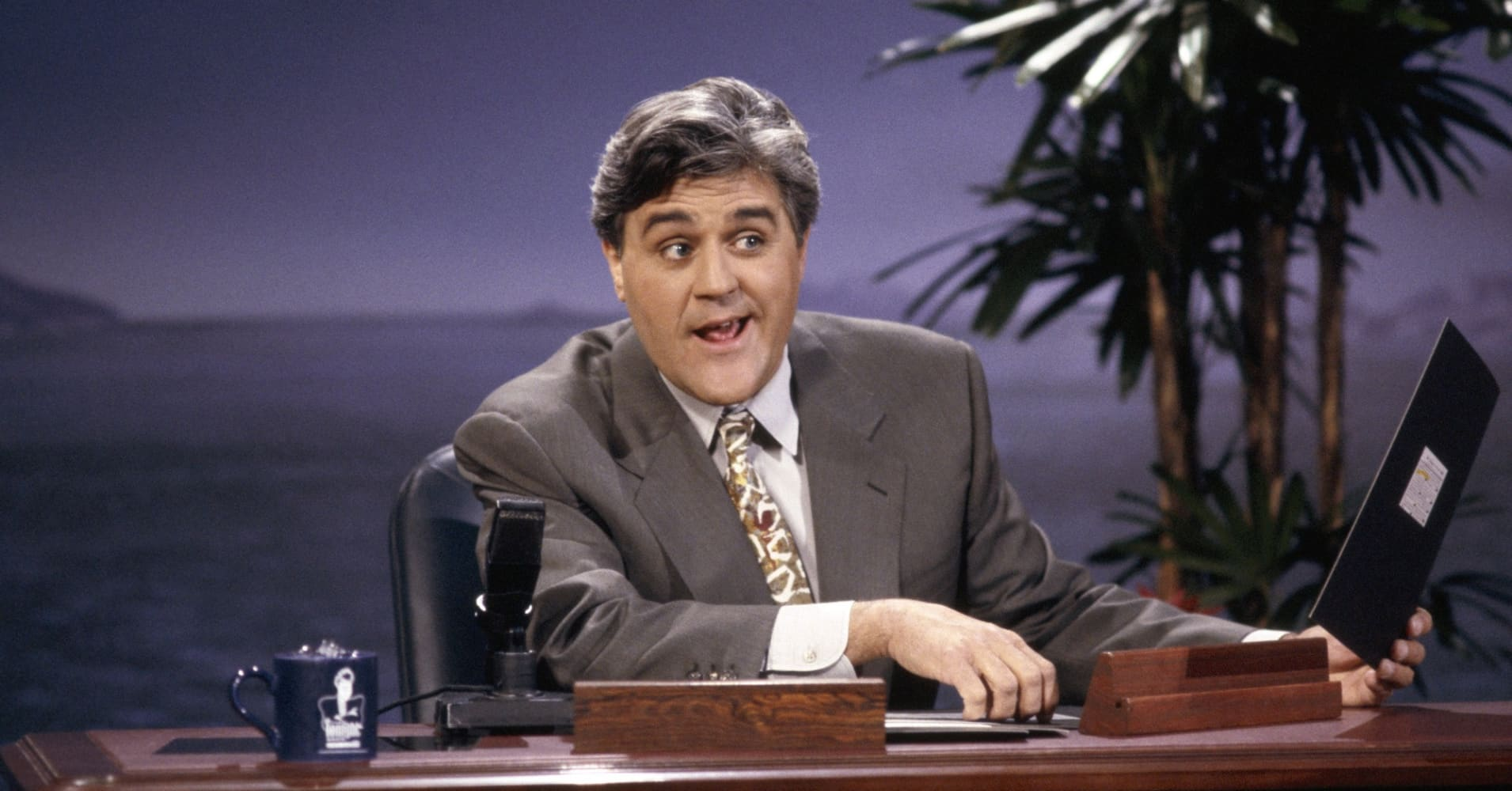 Why self-made millionaire Jay Leno still does 'about 210' live comedy shows a year