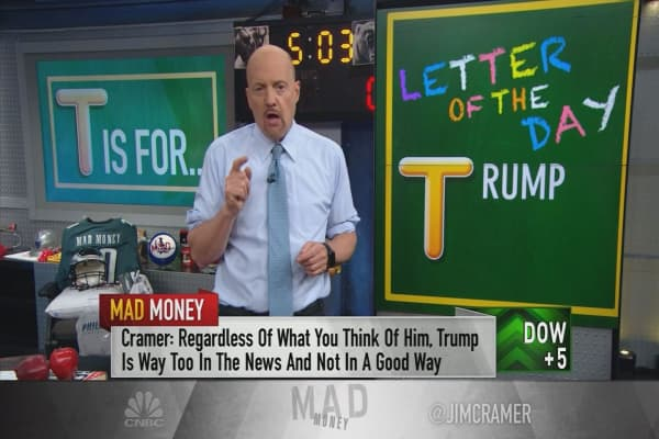Cramer on trade: China could wait out Trump's presidency to make a trade deal, and that's bad for stocks